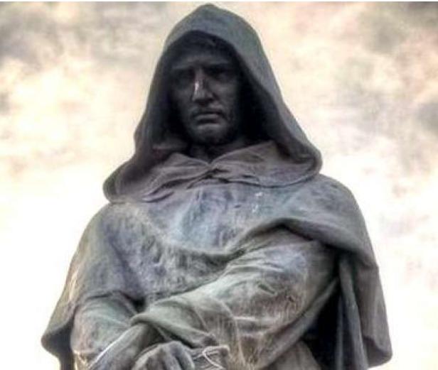 Giordano Bruno condotto al rogo. Dalle cronache del tempo.