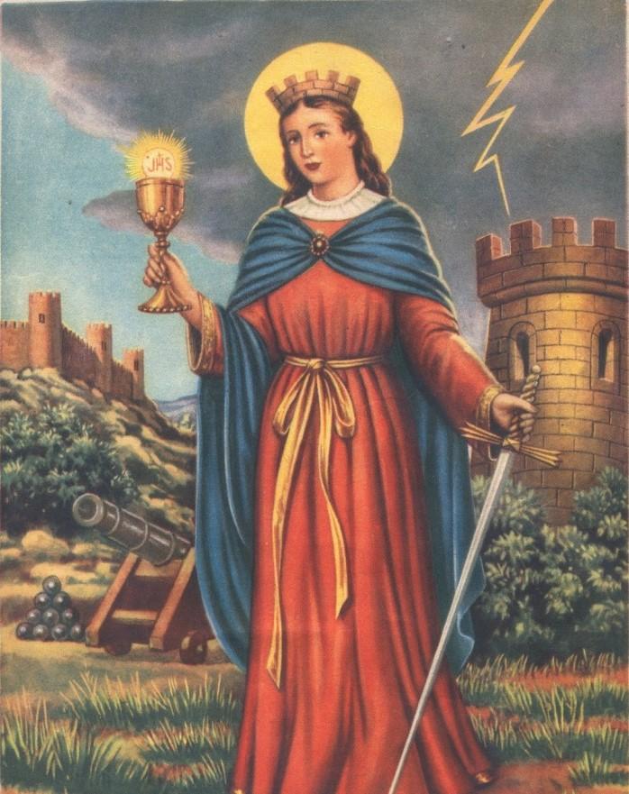 L'invenzione dei martiri cristiani: Santa Barbara